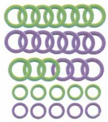 Bulk Buy: Clover Soft Stitch Ring Markers 30/Pkg 3107