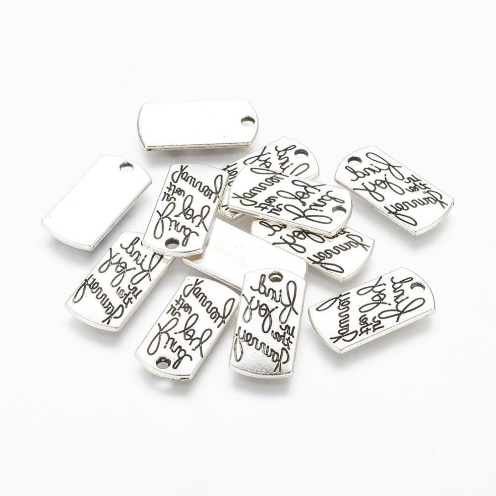 bulk charms quote charms word pendants find