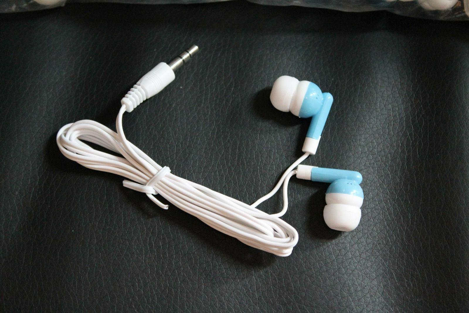 Bulk Lot of - BLUE/WHITE - In-Ear Earbuds - U.S.