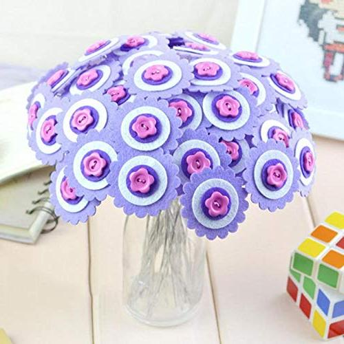 Buttons - Colorful Bottons Gift Diy Button Bouquet Toys Maker Before Pain Jesse Front