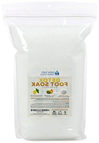 Detox Foot Soak 128oz New Epsom Salt Foot