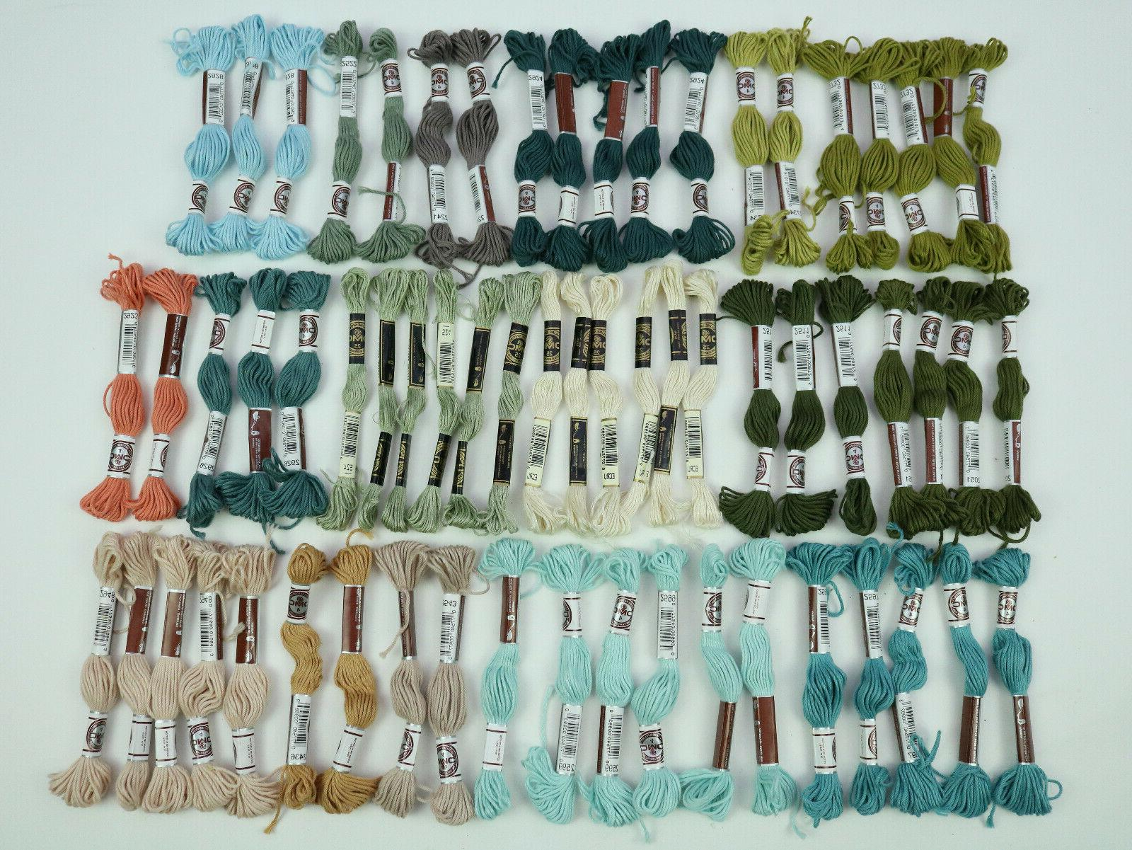 floss new variations colors lot of 63