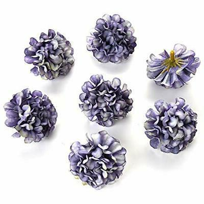 Flower In For Crafts Artificial Pompom Peony Head