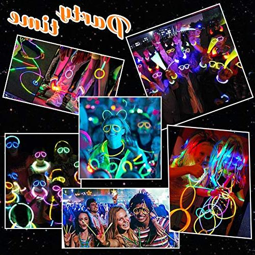 Glow Glow LED Party Party 50 Sticks Led Glasses,Light Up & Lights Kid