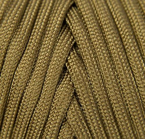 TOUGH-GRID Paracord/Parachute - Mil 750lb Paracord the US 100% Nylon In - Grizzly