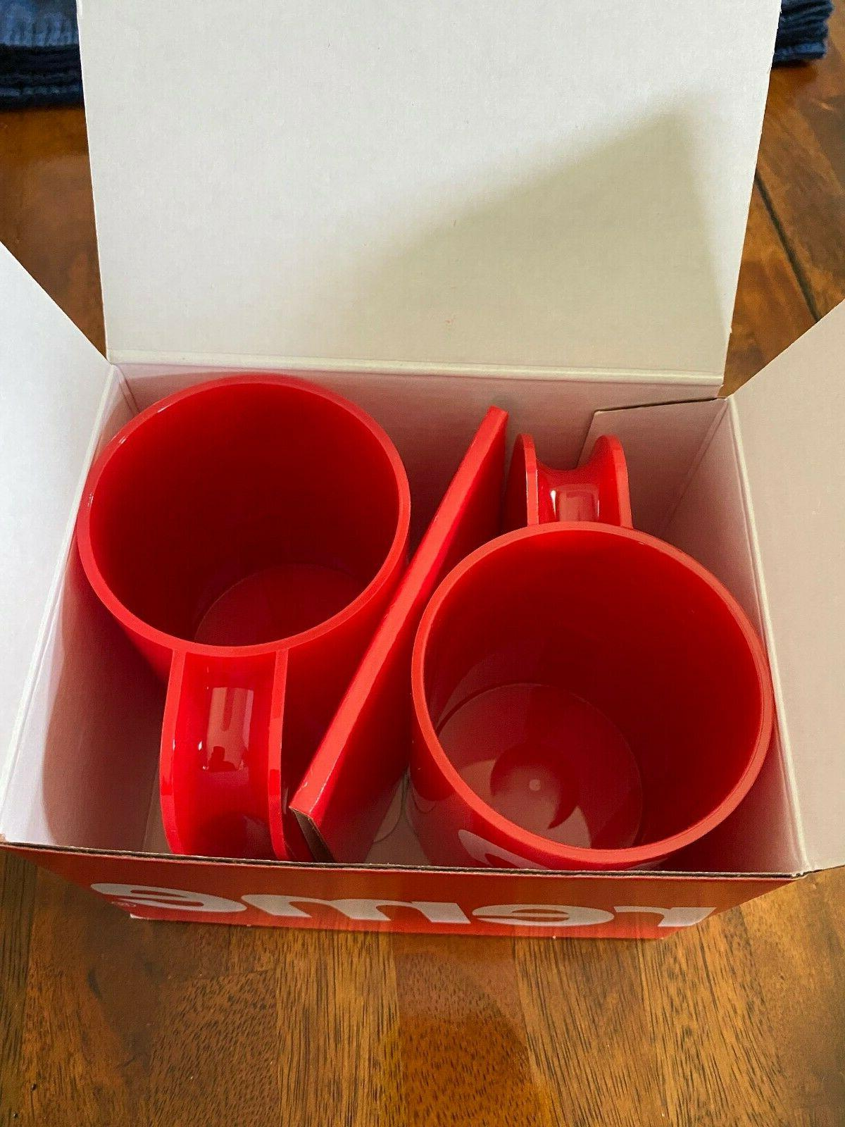 Supreme® Mugs Red IN FAST!