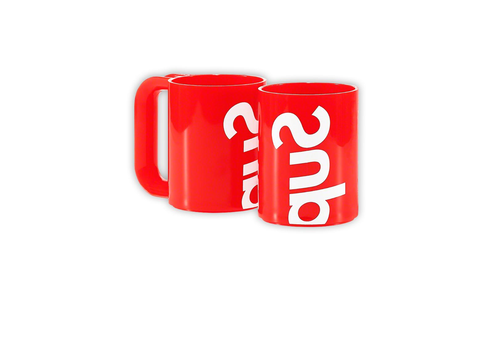 Supreme® Heller Mugs Red IN HAND! NOW FAST!
