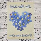 Set of 25 Individual Forget-Me-Not Seed Packets / Seed Favor