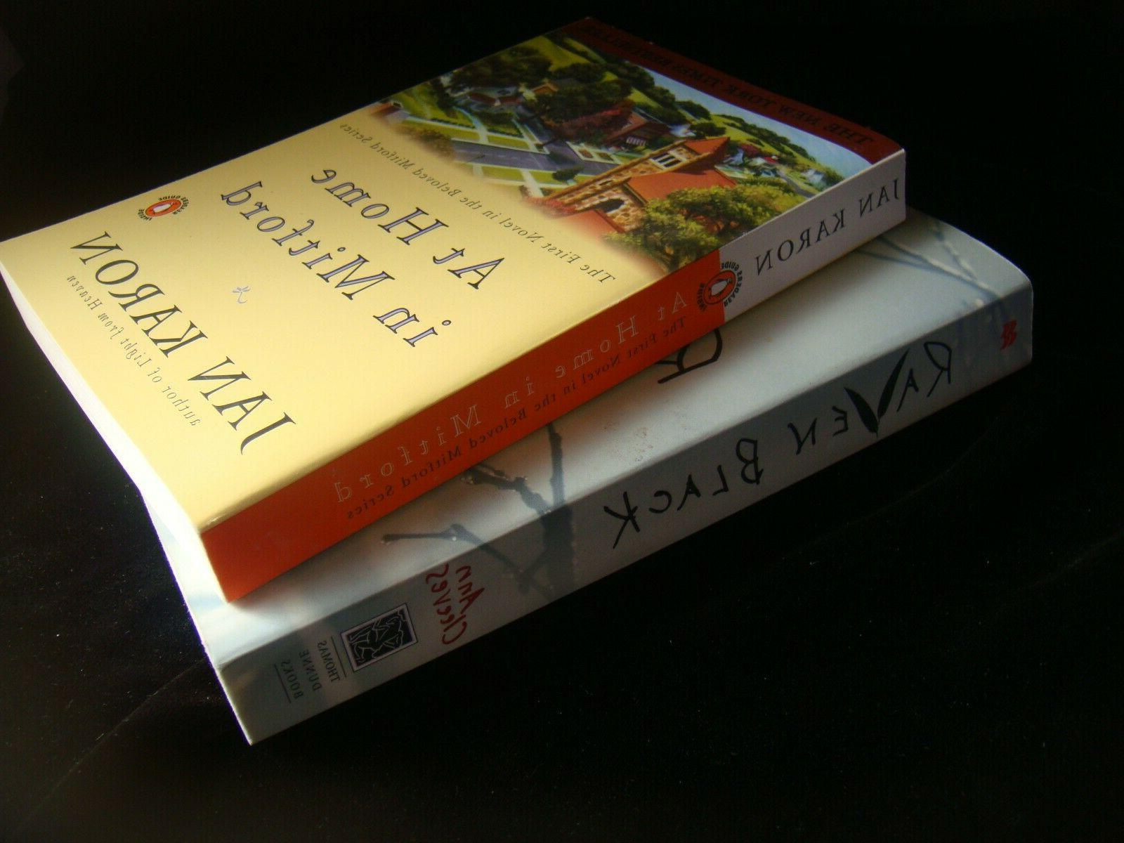 lot RAVEN BLACK Cleeves MITFORD 1-owner exc cond. NR