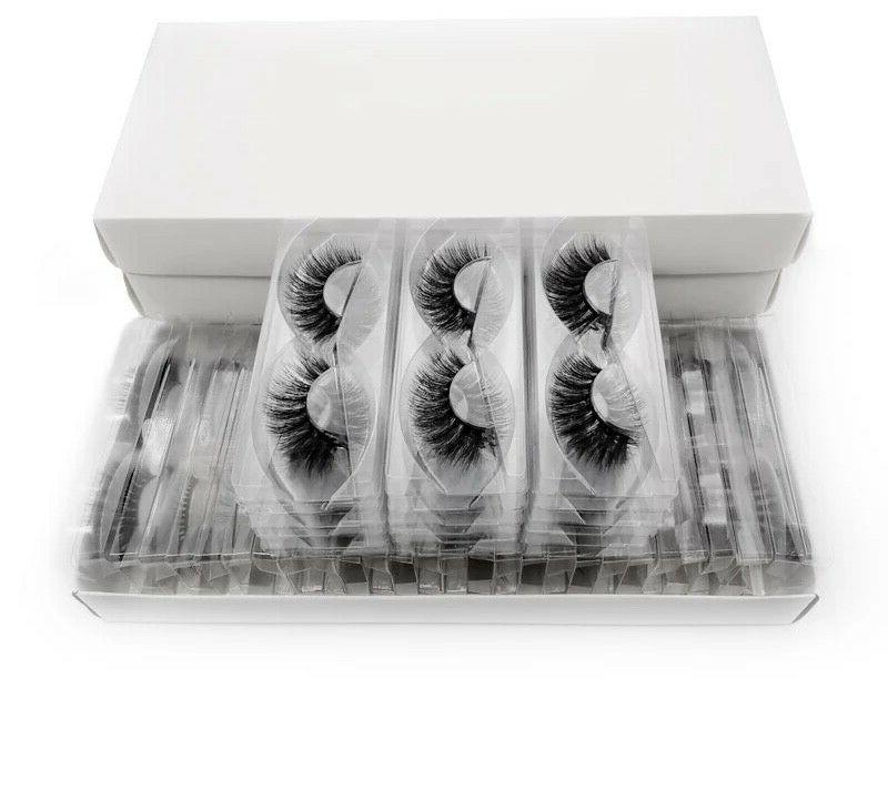 Mix Mink Sold in Pairs with Lash Tray Included
