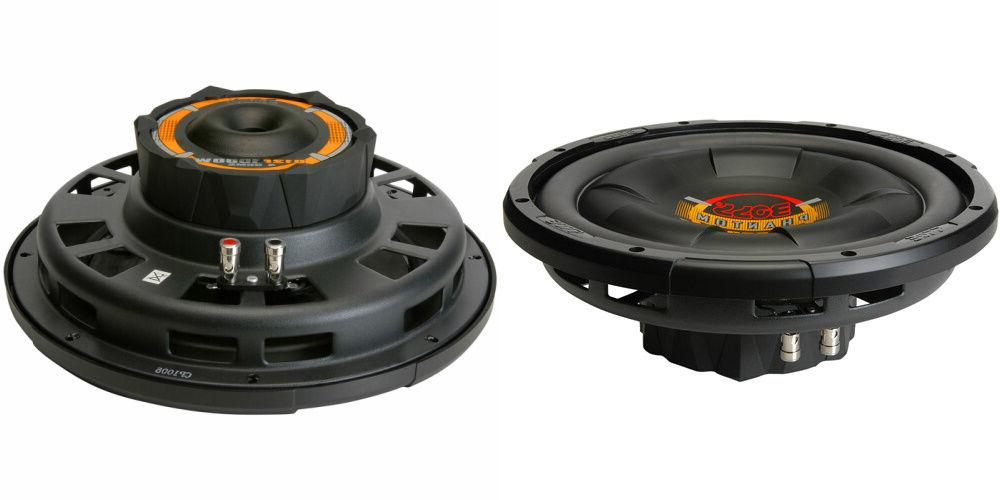 new 2 12 svc subwoofer bass speakers