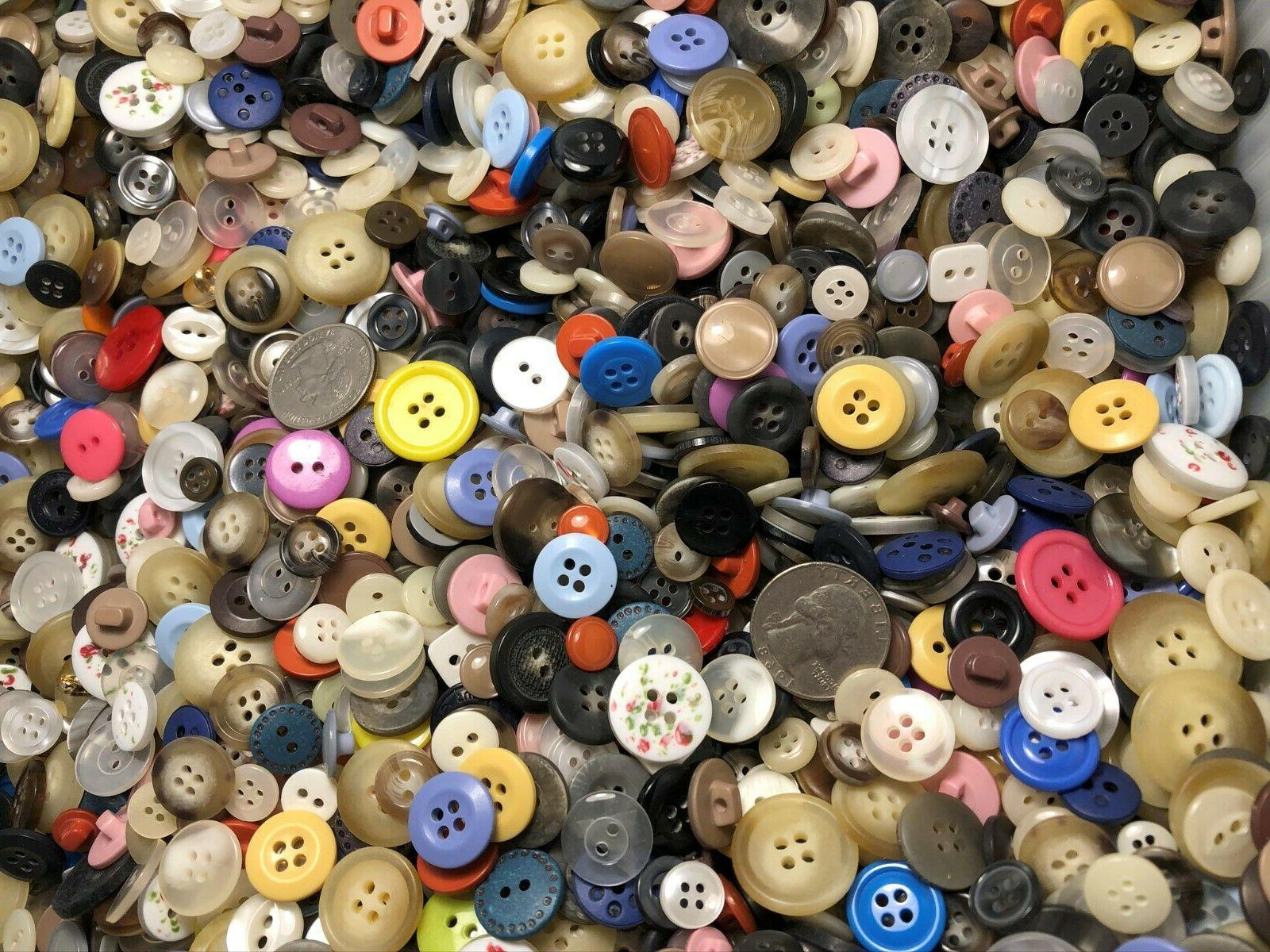New lots of Buttons assorted and sizes inch to 3/4