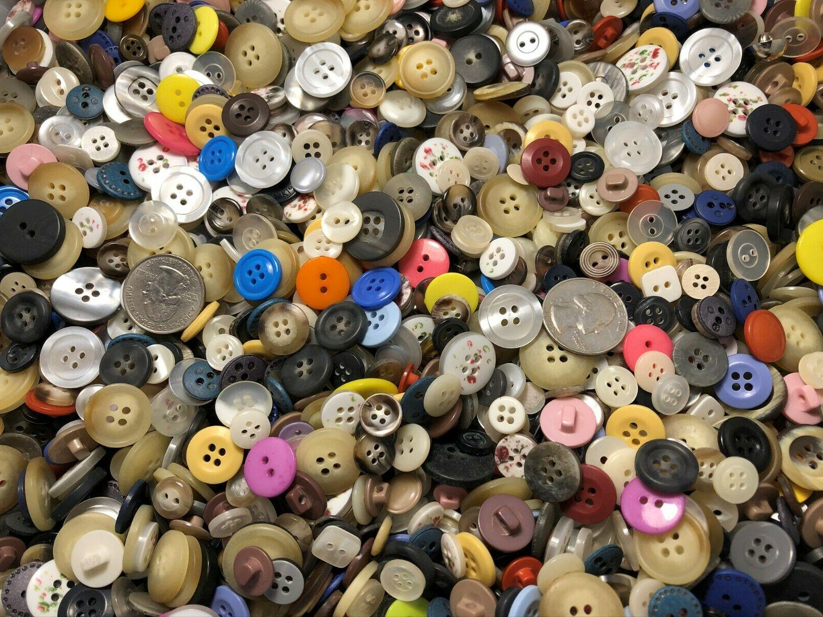 New Buttons assorted and inch