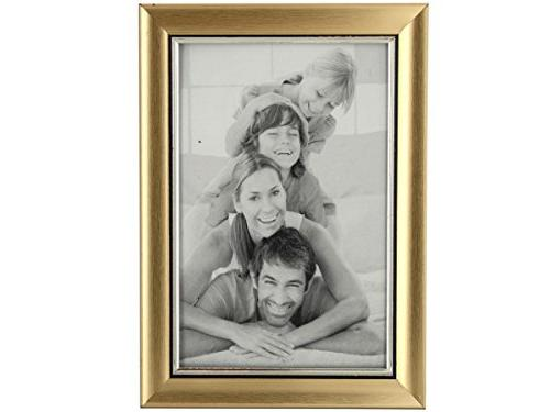 pf030 gold silver photo frame