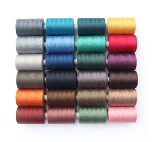 SEWING All Purpose Polyester Threads in 24 yds and Sewing Machine