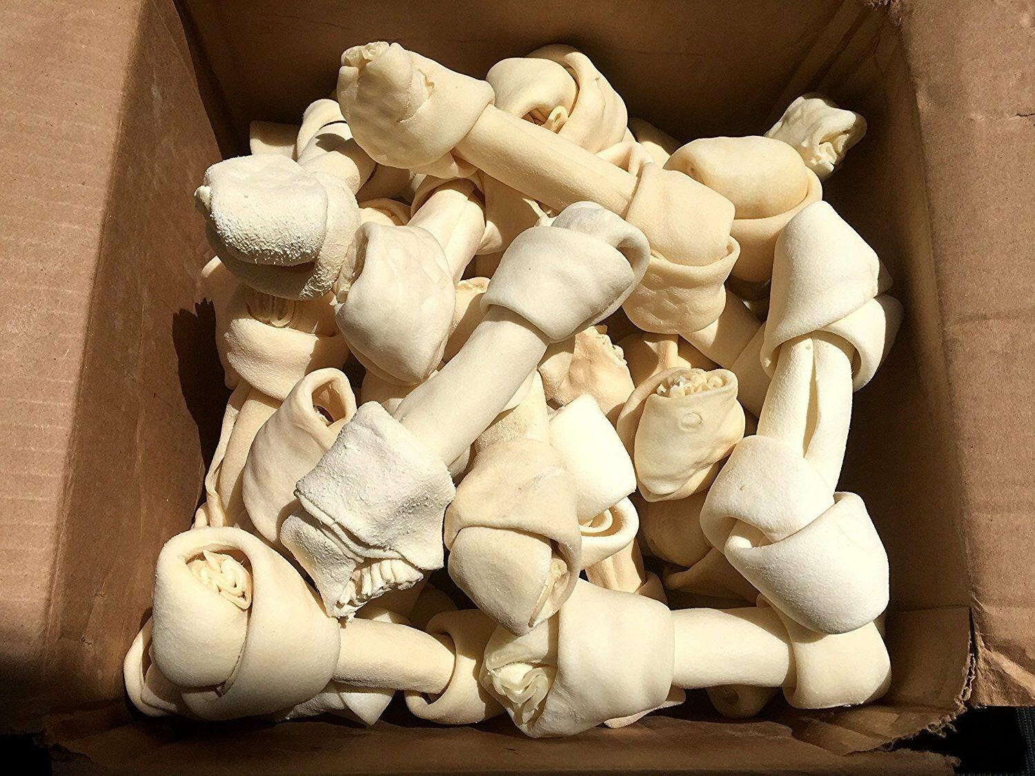 Rawhide 100% Natural hide chew in From 123