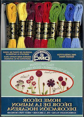 Set of 36 Skeins ~ DMC Home Decor Embroidery Cross Stitch Fl