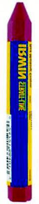 STRAIT-LINE 66406 Lumber Crayon, 1/2 in Dia x 4-1/2 in L, Wa