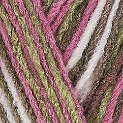 Red Heart Bulk Buy Super Saver Yarn  Pink Camo E300-972