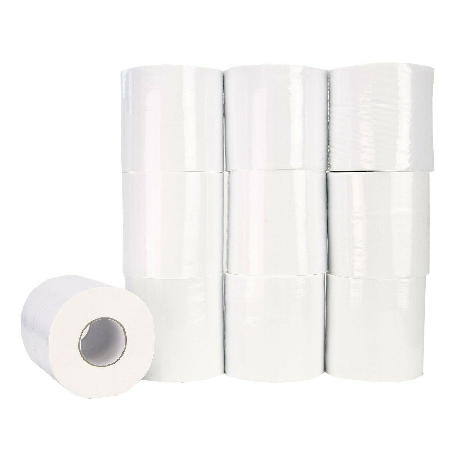 value 3 ply white toilet paper bathroom