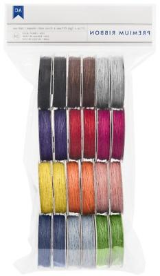 American Crafts Value Pack Ribbon, Jute Basics, 1-Yard Spool