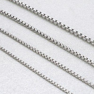 Wholesale in Silver Stainless Rolo Chain