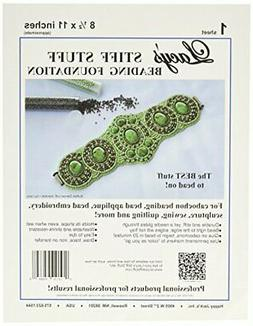 Lacy's Stiff Stuff Beading Foundation for Cabochons, 11 x 8.