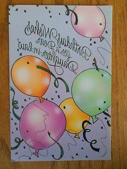LARGE AMERICAN GREETINGS CARD FOR DAUGHTER-IN-LAW BIRTHDAY ~