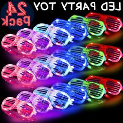 Light Up Glasses Bulk Party Favors Glow in The Dark LED Glas