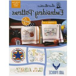 Aunt Martha's in the Line of Duty Transfer Pattern Book with