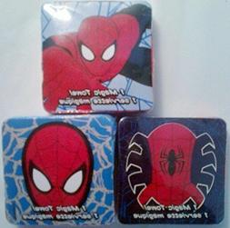 Lot  Spider Man Magic Towels Expand in Water Cotton Washclot