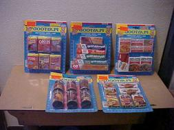 Lot of Nasta 1980s Playfood New in the Packages 31 Items Che