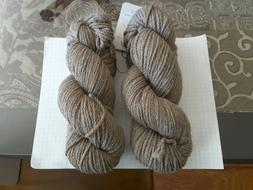 Lot of 2 Skeins of Quince and Co. Osprey Chunky Yarn in Casp