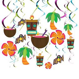 Juvale 30 Pack Luau Party Decorations - Hawaiian Party Suppl