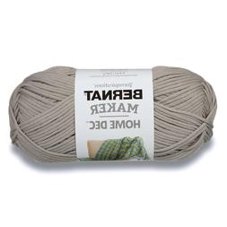 Bernat Maker Home Decor Yarn, 8.8 Ounce, Clay, Single Ball N