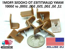 MANY PACK SIZES! Corner Tack Nail In On Wooden Drawer Glides