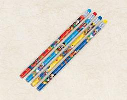 Mickey Mouse Party Favors - Assorted Pencils Package of 1