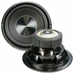 """NEW  10"""" Pioneer DVC Subwoofer Bass.Replacement Speakers.4oh"""
