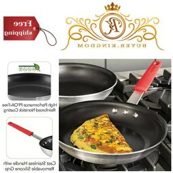 Professional Nonstick Restaurant Frying Pan - Size: 10