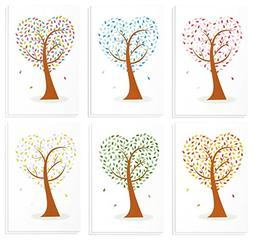 48 Pack All Occasion Assorted Blank Note Cards Greeting Card