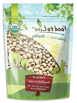 Organic Black-Eyed Peas by Food to Live  — 1 Pound