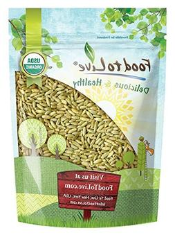 Organic Rye Berries by Food to Live  — 3 Pounds