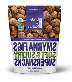 Made in Nature ORGANIC Smyrna / Calimyrna Figs SOFT & SULTRY
