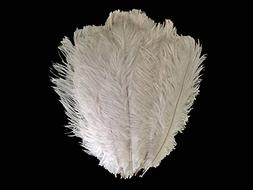 """Ostrich Feathers , 1/2lb - 19-24"""" OFF White Large Ostrich Dr"""
