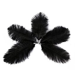 Wionya 50pcs Ostrich Feather Craft 6-8inch Plume for Wedding