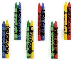 150 2-Packs of Premium Full-Size Crayons in cellophane wrapp