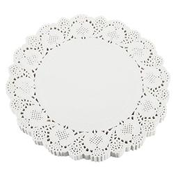 Paper Doilies – 250-Pack Round Lace Placemats for Cakes, D