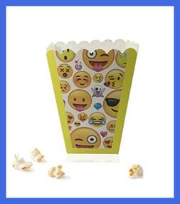 """Paper Popcorn Fries Boxes 30 Pack 3"""" X 4"""" For Movie Party FR"""