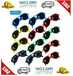 Kids Sunglasses Party Favors Aviator Sunglasses in Bulk 24 P