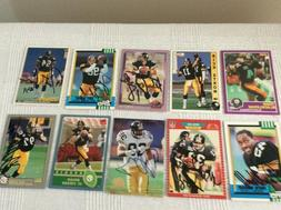 Pittsburgh Steelers Cards - Bulk 10 in total